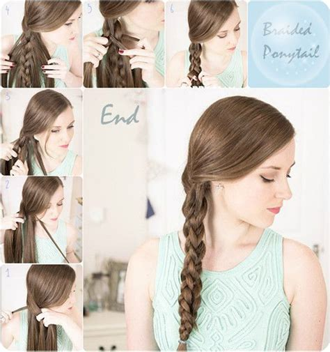 easy school hairstyles for long straight hair 7 easy and chic ponytail hairstyle for girls back to