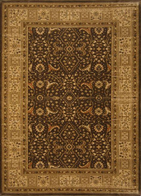Area Rugs 5x7 Brown Area Rug 5x7 Border 7710 Carpet Actual 5 2 Quot X7 2 Quot Ebay