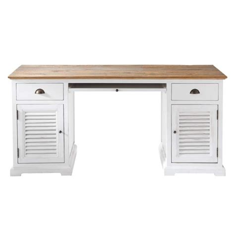 scrivanie maison du monde scrivania in legno riciclato l 165 cm sologne maisons du