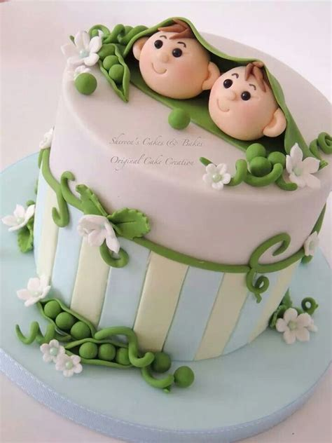 two peas in a pod baby shower cake two peas in a pod baby shower cake beautiful baby shower