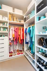 Color Organized Closet by Closet With Shelves Cottage Closet Coastal Style
