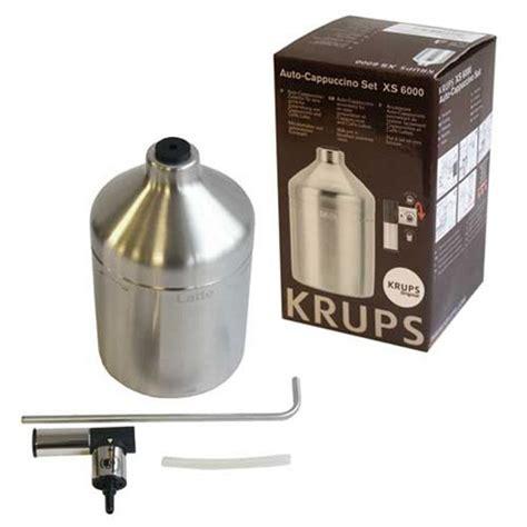 Krups Xs 6000 Xs6000 Auto Cappuccino Set Espresso Coffee Krups Ea Xp krups auto cappuccino set xs 6000 xs600010