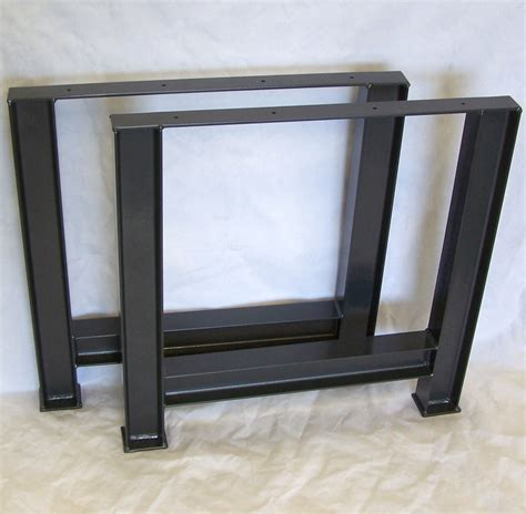 Metal Table Legs by Industrial Table Legs Structural Steel I Beam