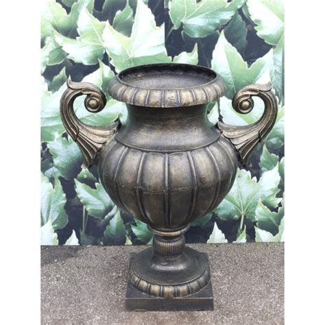 Large Urn Planter Sale by Large Planter Urn Bronze Finish Swanky Interiors