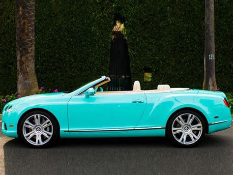 tiffany blue bentley 2013 bentley continental gtc v8 beverly hills edition is