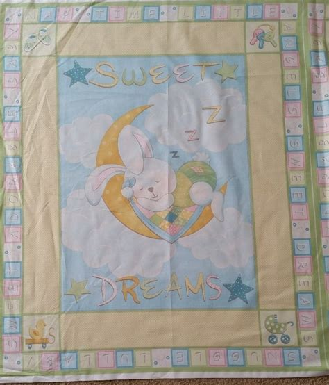 Cot Quilt Panels brand new baby cot quilt panel ebay