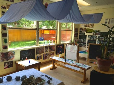 classroom layout reggio love the draped sheet and the arrangement of tables home