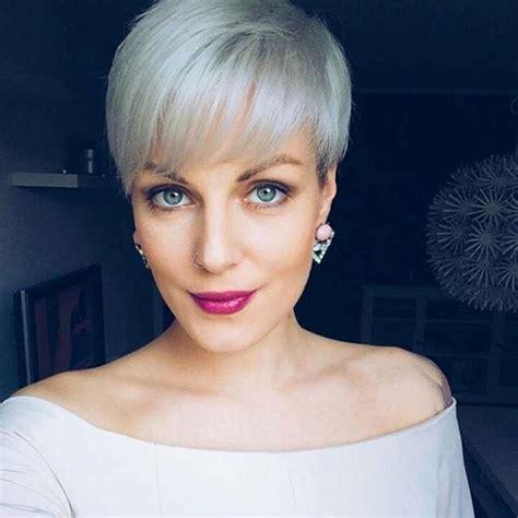 gray short hairstyles  haircuts  women