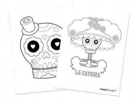 la catrina coloring pages free fun and simple ideas for day of the dead or el dia de los