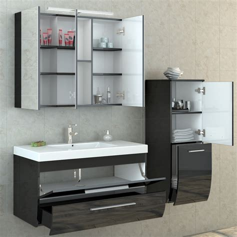 high gloss bathroom cabinets bathroom furniture set high gloss bathroom mirror cabinet