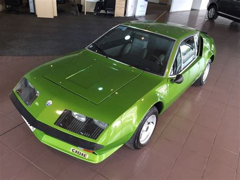 renault alpine a310 engine this used renault alpine a310 is a rear engined