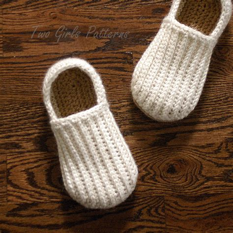 crochet slippers patterns crochet pattern for mens house shoes the lazy day loafers