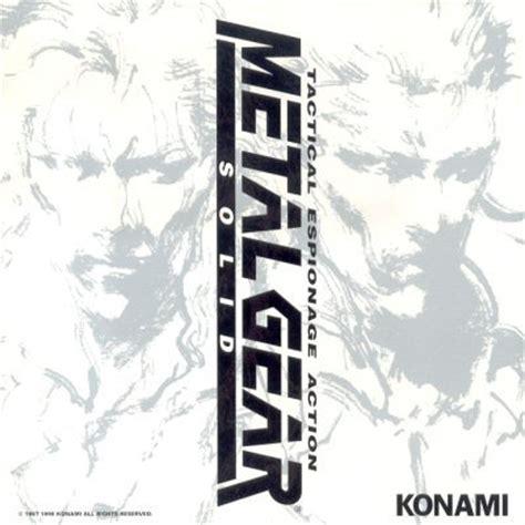 Original I Gear metal gear solid original soundtrack metal gear