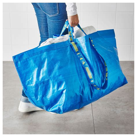 ikea frakta frakta carrier bag large blue 71 l ikea