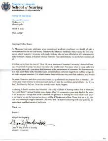 College Award Letter Exles Viral Marketing Mail From Monsters School Of Scaring Animation Fascination