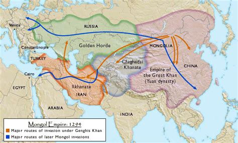 mongol empire map infographics maps and more middle east history visual study