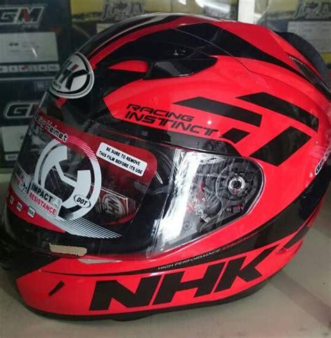Helm Nhk Gp1000 Instinct jual helm nhk gp 1000 merah gp1000 merah nikjo helmet