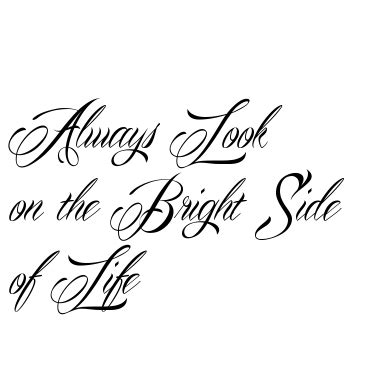 brightside tattoo look on the bright side search