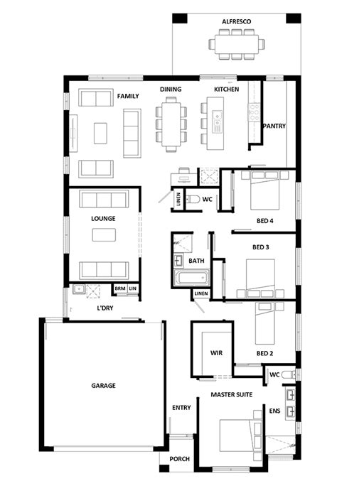 hotondo homes floor plans erskine 240 home design house design erskine 240