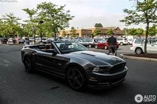 2014 California Convertible Ford Mustang Gt California Special Convertible 2012 5