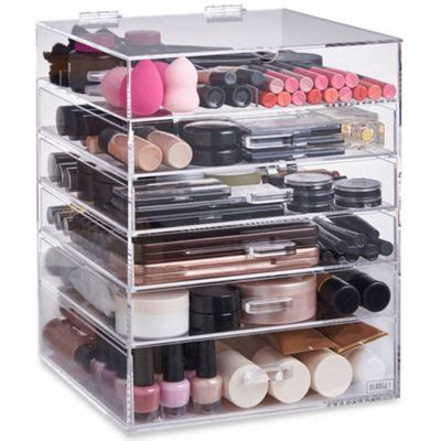 See Through Makeup Drawers by Buy Beautify Large 6 Tier Clear Acrylic Cosmetic Makeup