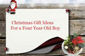 christmas gift ideas for a four year old boy goody