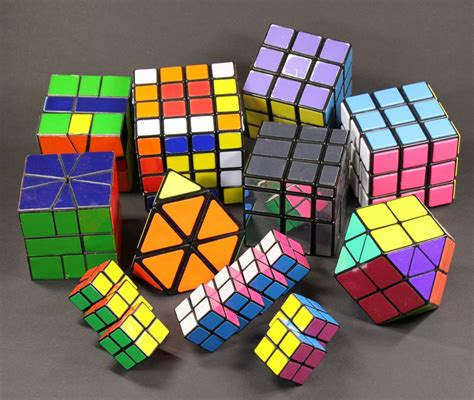 Origami Rubiks Cube - rubik s cube collection jigsaw puzzle in macro puzzles on