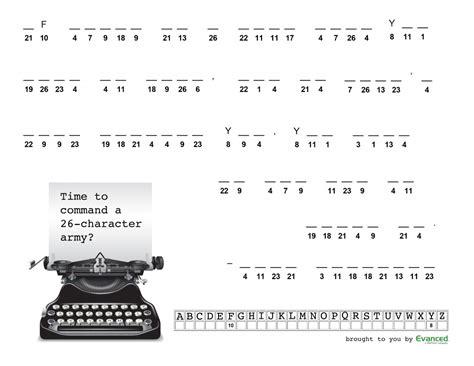 printable quiptoquip puzzles image gallery easy cryptograms