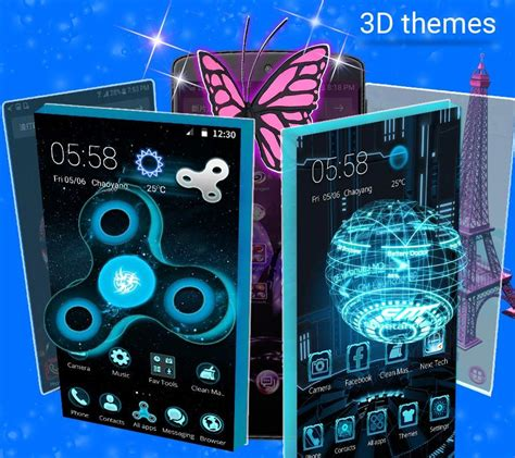 themes live cm launcher 3d hd theme live wallpaper android apps