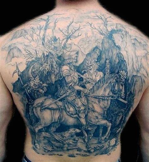 tattoo nightmares kontakt rycerz na koniu