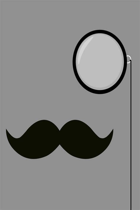 wallpaper for iphone classy classy moustache iphone wallpaper hd