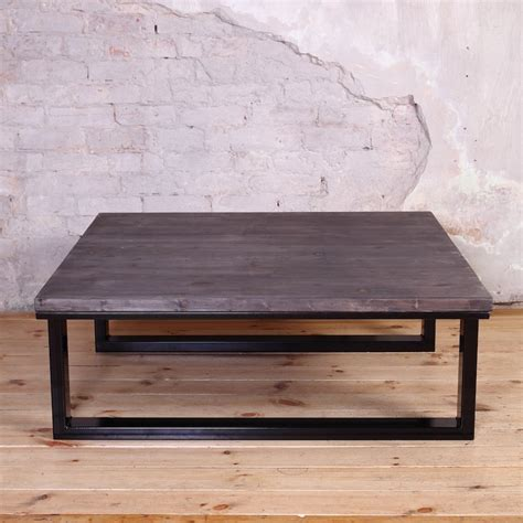 industrial style coffee table modern industrial style coffee table cosywood co uk