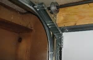 Low Headroom Garage Door Track Low Headroom Modification For Steel Doors