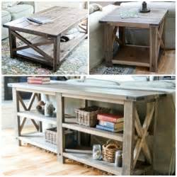 Behind Sofa Console Table Remodelaholic Stylish And Simple Diy Sofa Table