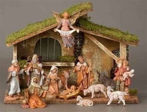 13 piece fontanini nativity set 5 quot figurines w italian