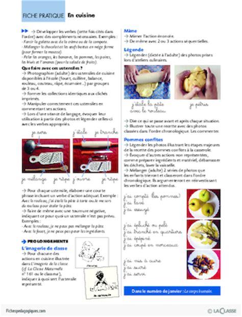 verbe de cuisine les verbes d 2 en cuisine fichesp 233 dagogiques com