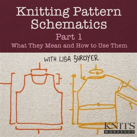 pattern bargaining meaning knitting pattern schematics what they mean and how to use