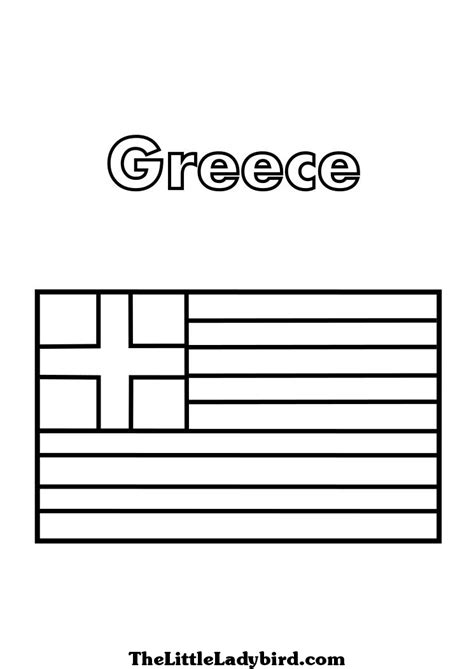 greek flag coloring page az coloring pages
