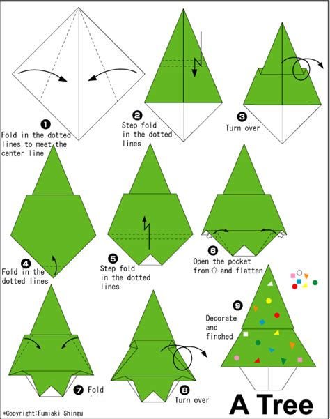 Tree Paper Folding - image result for http en origami club