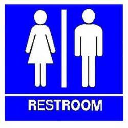 unisex bathroom signs clipart best