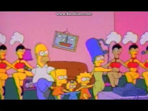 all simpsons couch gags all simpson couch gags for season 6 youtube