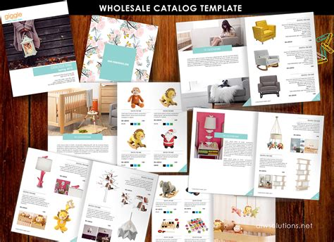 Catalogue Brochure Templates Product Catalog Template For Hat Catalog Shoe Catalog Template Hand Bag Template Accessory