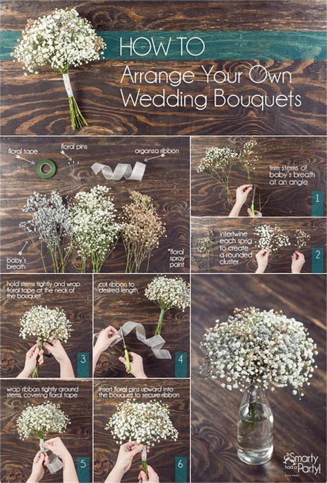 babys breath bouquet how to wrap your own bouquet diy baby s breath wedding bouquets wedding pandora