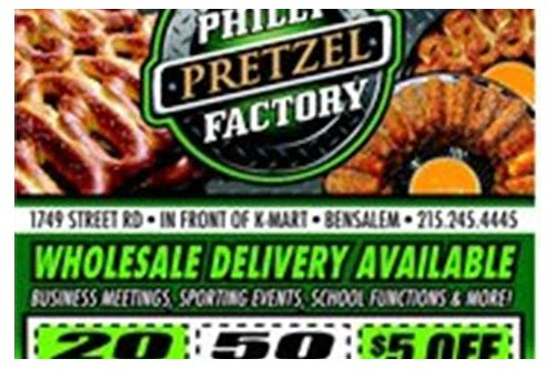 philly pretzel factory collegeville coupons