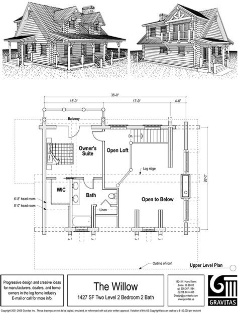 small house floor plans with loft vacation home plans with loft