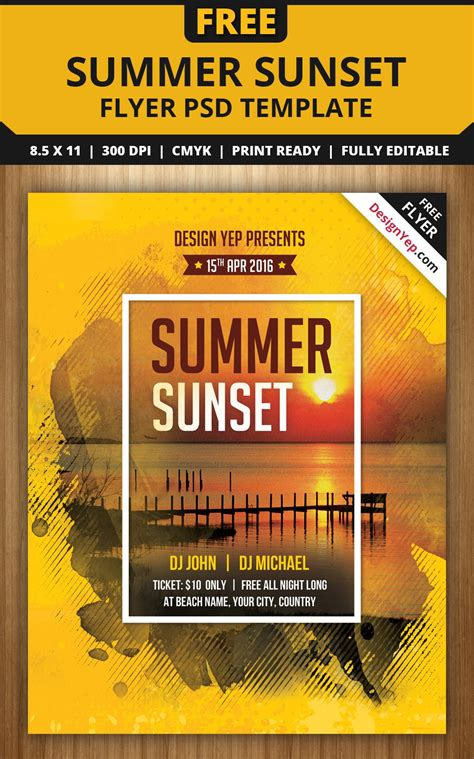 Summer C Flyer Template 28 Images More Great Summer Flyer Designs Design Clubflyers Free C Flyer Template