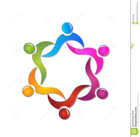 plan de travail angle 3179 logo de personnes de diversit 233 de travail d 233 quipe photo