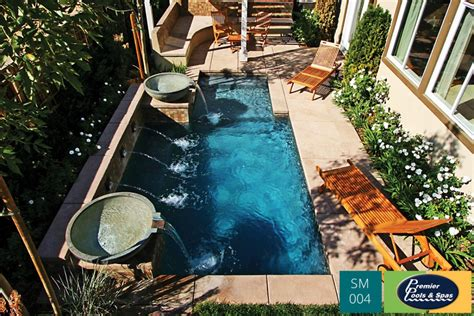 pools in small yards small pools spools premier pools spas