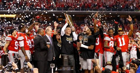 Mba Football State Chionship by Ohio State Wins College Football S National Chionship