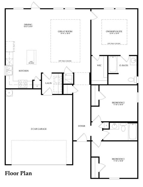 fresh pulte home floor plans new home plans design